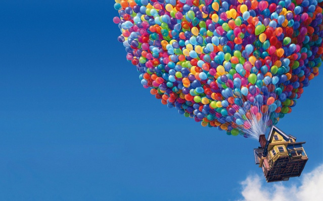 I can not find a better metaphor for Canada's housing market than this image from the movie UP! (Which is a film I highly recommend)