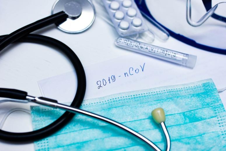 """disease epidemic New coronavirus """"2019-nCoV"""", handwritten text."""